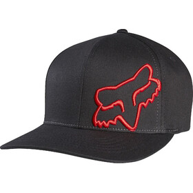 Fox Flex 45 Casquette Flexfit Homme, black/red